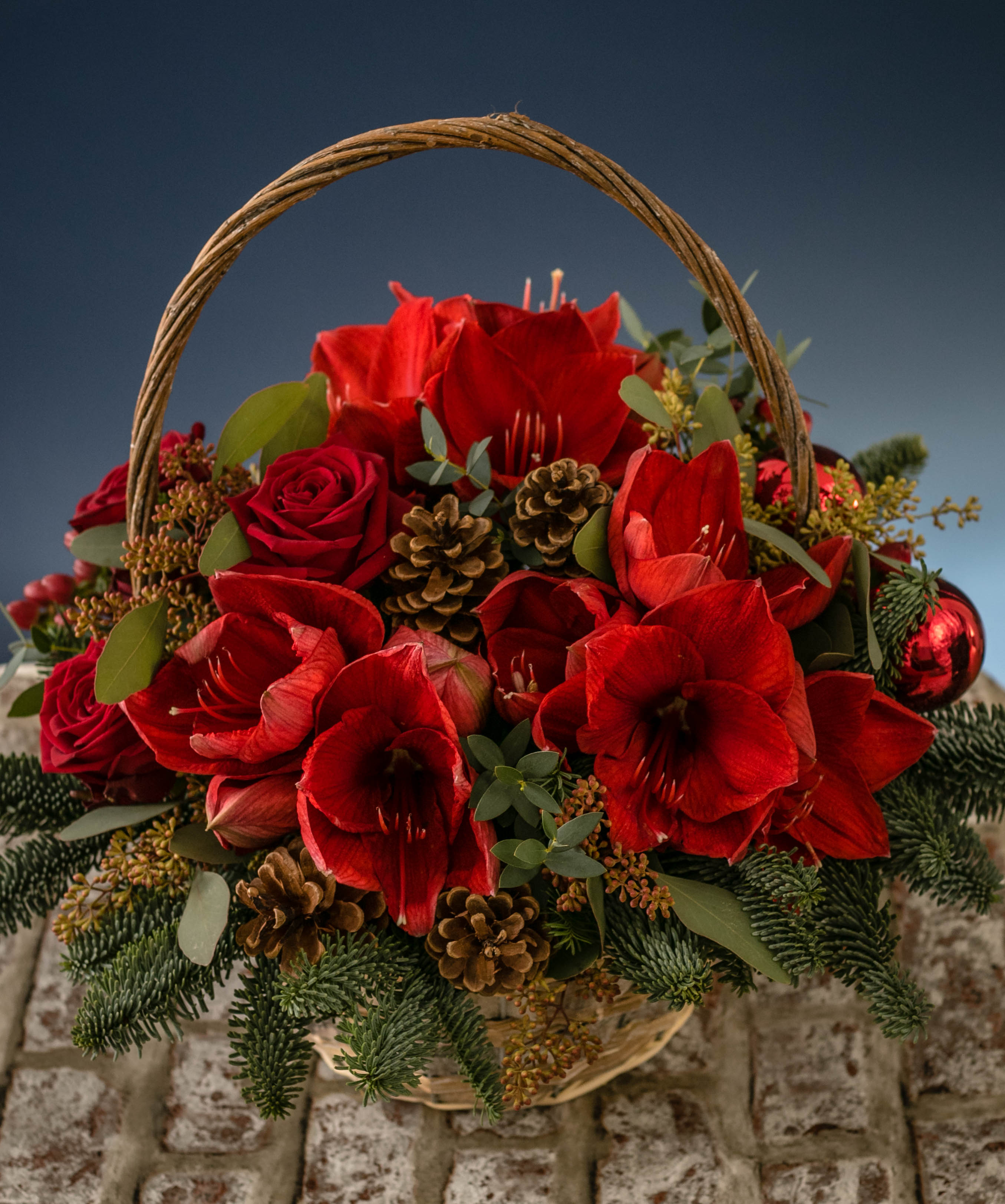 Christmas Flowers Decorations